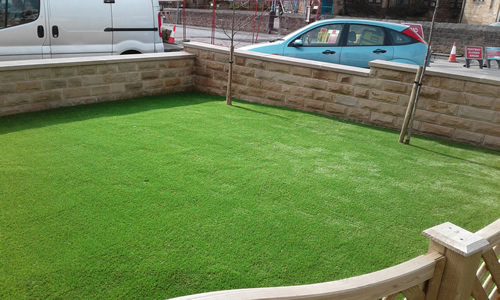 The new, artificial turf Sheffield and South Yorkshire.