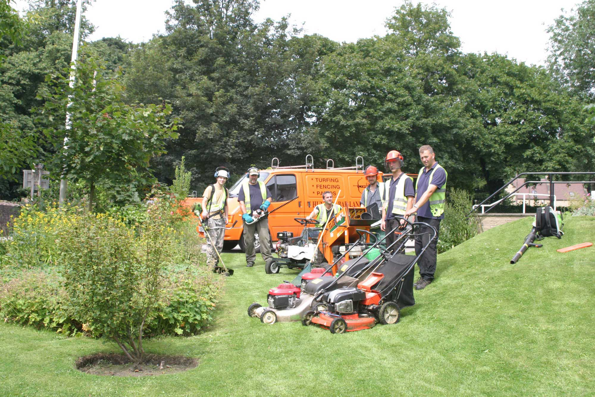 Landscaping services Sheffield