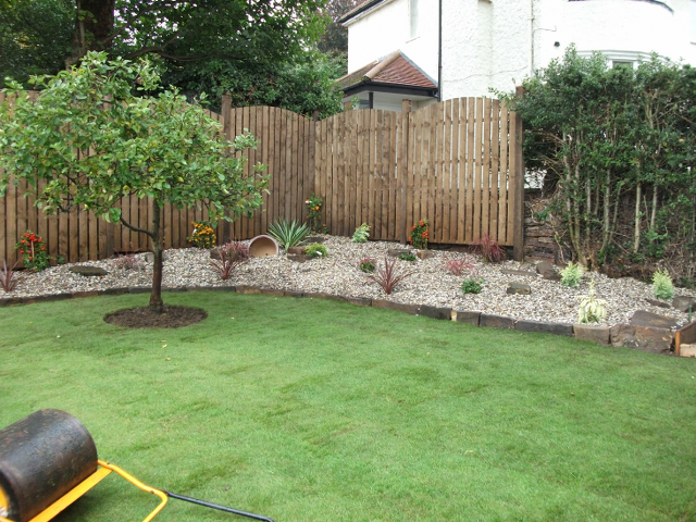 Garden landscaping Sheffield